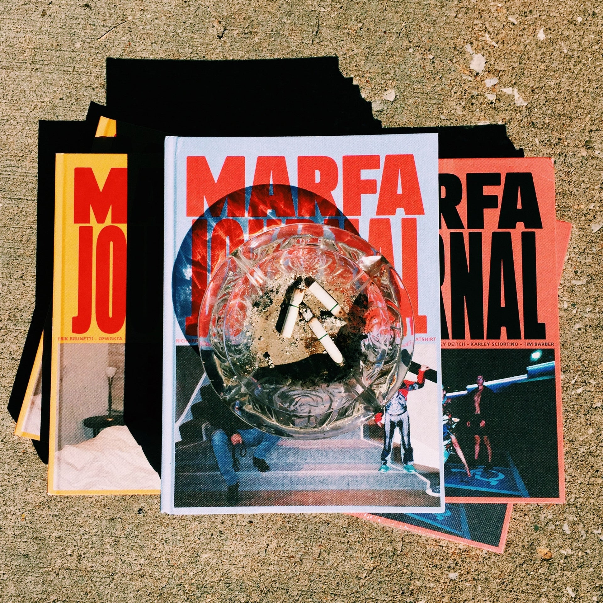 MARFA JOURNAL 02 (Jac by Joachim Johnson cover)