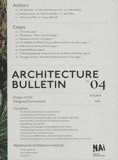 Architectuurbulletin 04