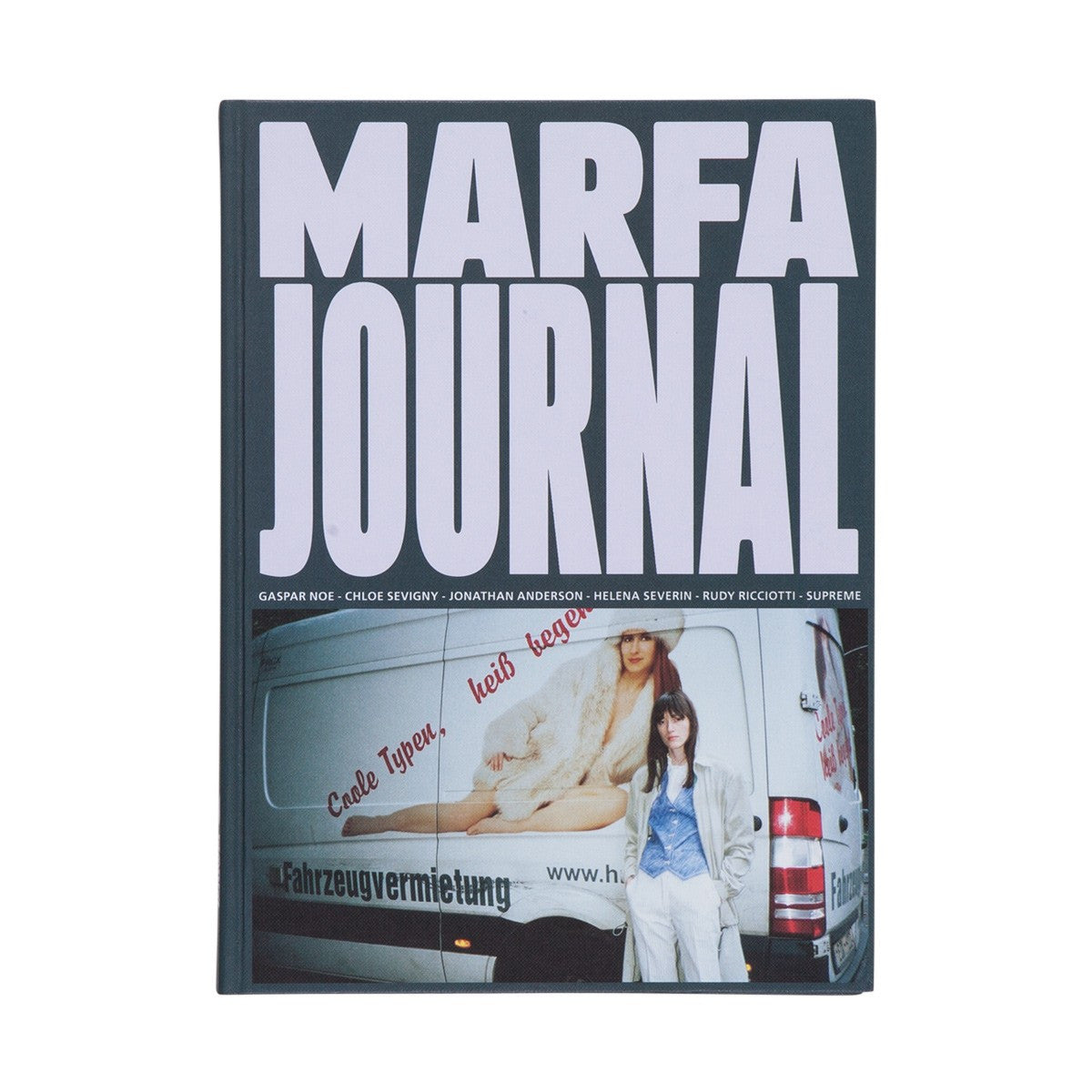 MARFA JOURNAL 03 (HELENA SEVERIN's ROADTRIP: from Paris to Berlin to Paris by Alexandra Gordienko cover)