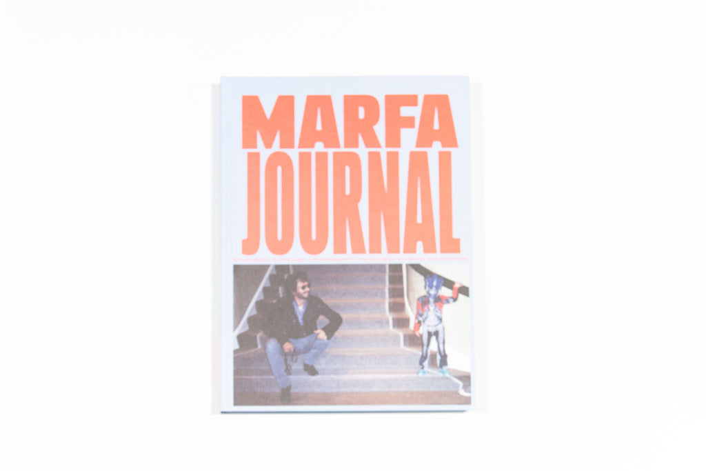 MARFA JOURNAL 02 (Olivier Zahm by Alexandra Gordienko cover)