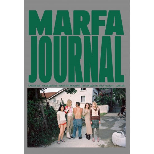 MARFA JOURNAL 03 (MARFRIENDS in Montreuil in Marc Jacobs cover)