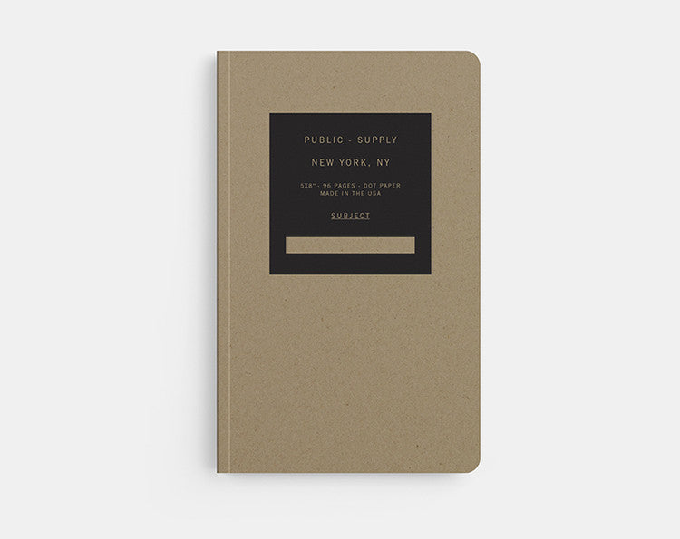 Public - Supply Notebook (Kraft 02)