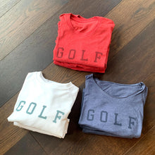 Load image into Gallery viewer, Relaxed Crew Neck Golf Sweatshirt