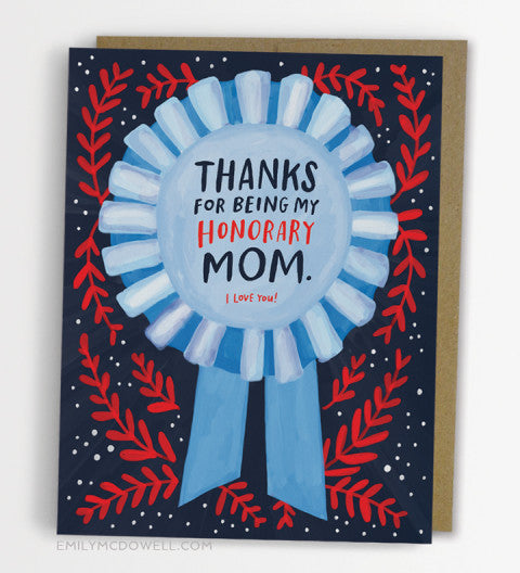 Honorary Mom Card