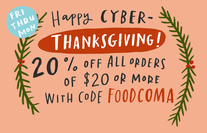 CYBER-THANKSGIVINGUKKAH SALE!