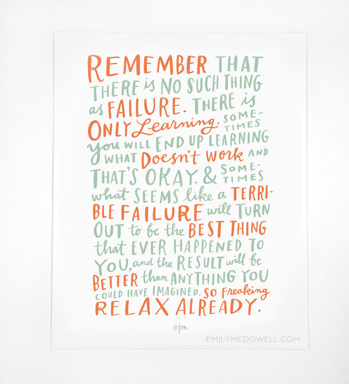 On Failure Print: 8x10