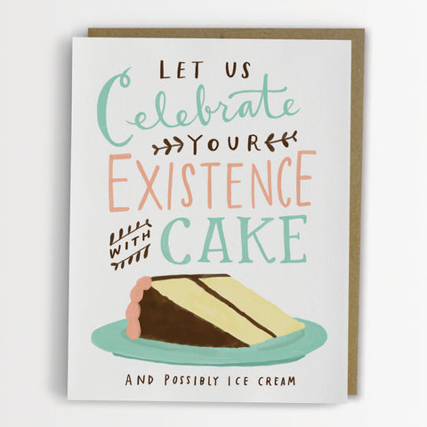 Birthday Card: Celebrate with Cake