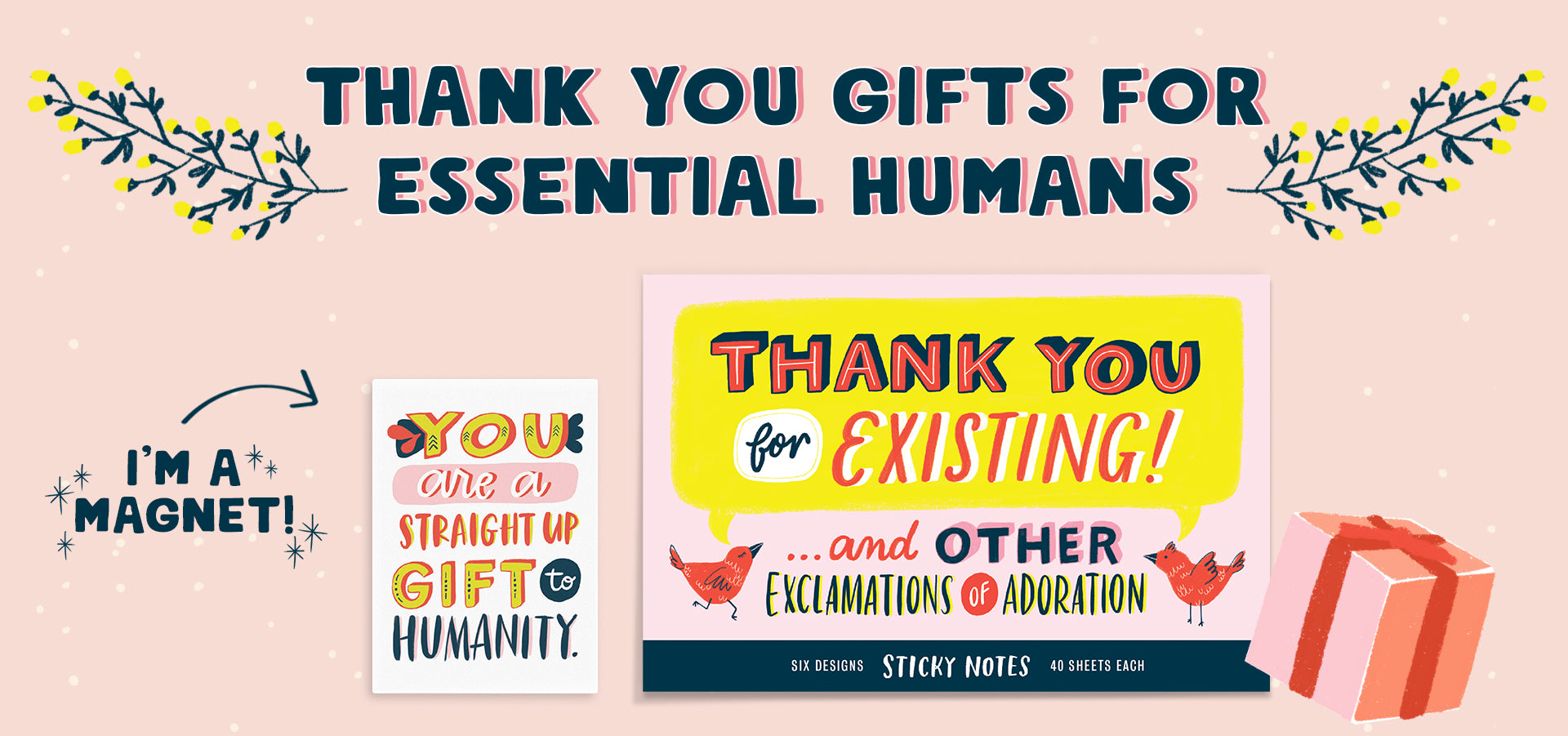 Thank You Gifts for Essential Humans from Emily McDowell & Friends