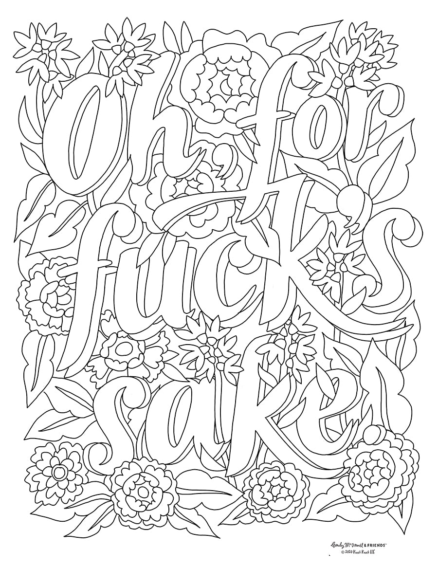 Emily McDowell Coloring Pages—Free Unstressing Special! | Emily McDowell &  Friends