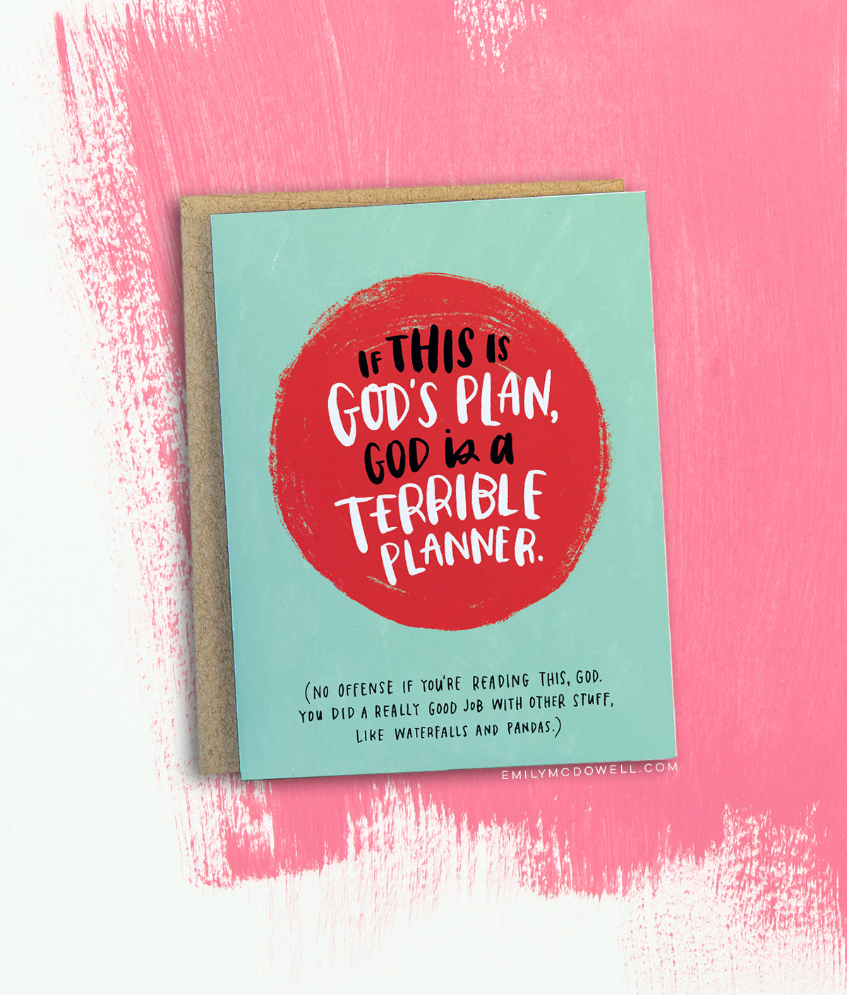 God's Plan Empathy Card