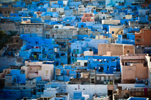 The Blue City of Jodhpur. Rad.