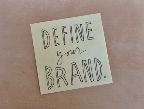 Define your brand - starting a business