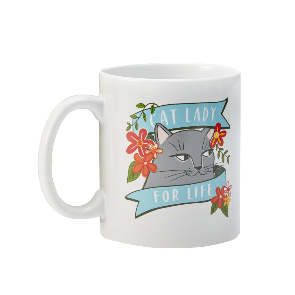 Cat Lady Mug (Gray)