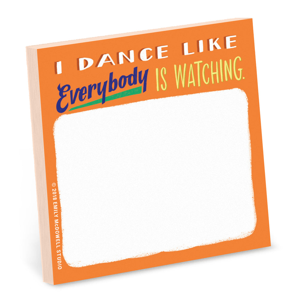Dance Sticky Note