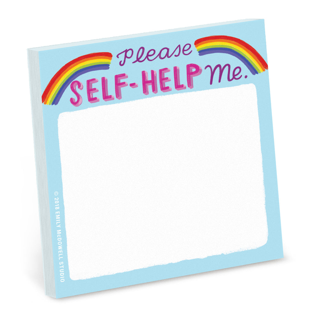 Self-Help Sticky Note
