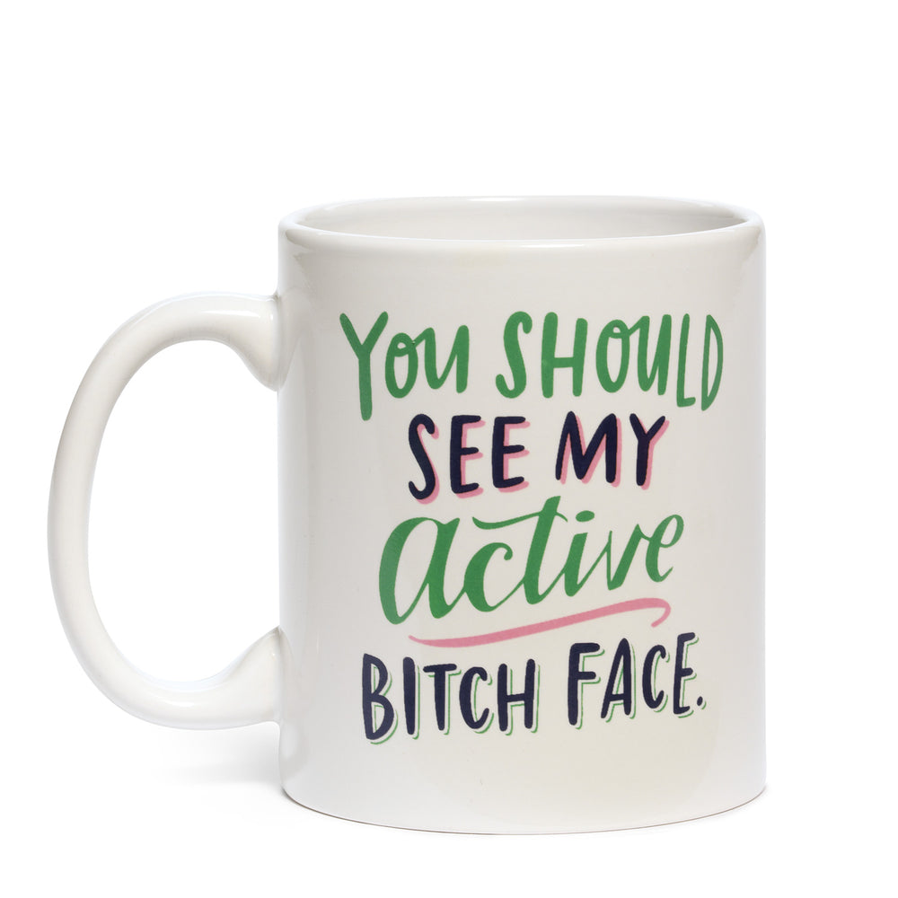 Active Bitch Face Mug