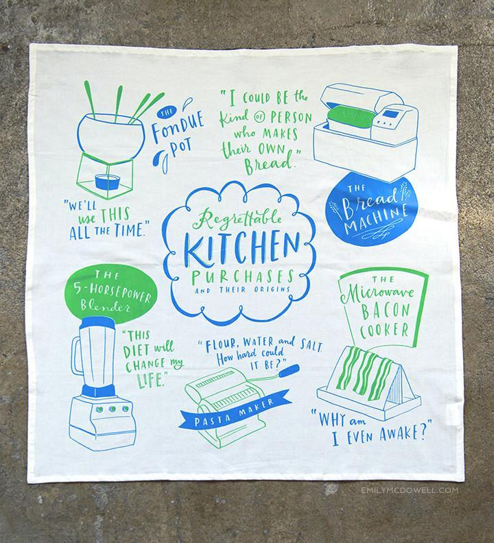 Kitchen Purchases Dish Towel