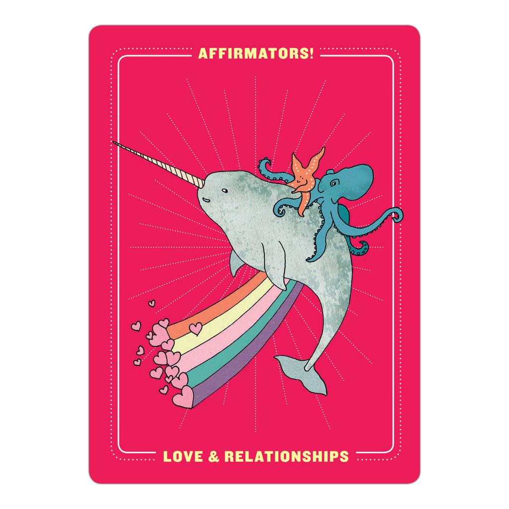 Affirmators!® Love & Relationships: 50 Affirmation Cards Deck