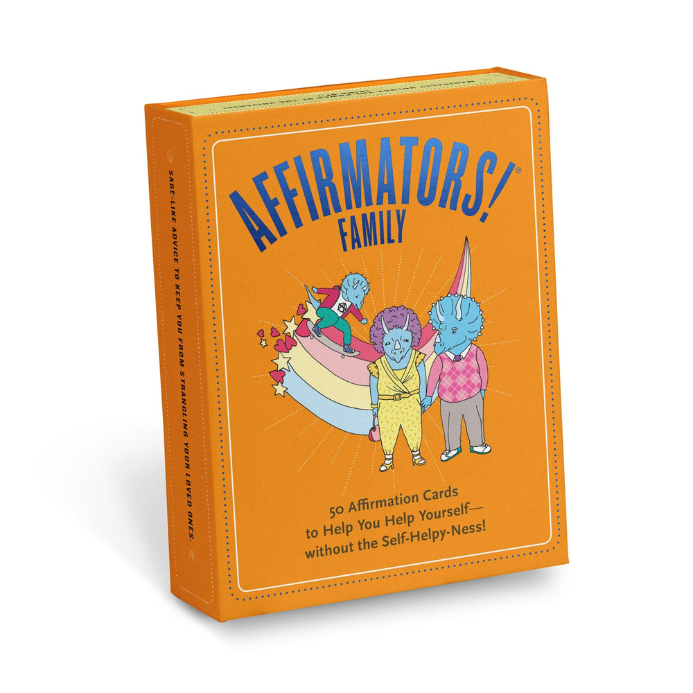 Knock Knock Affirmators!® Family Deck: 50 Affirmation Cards Deck