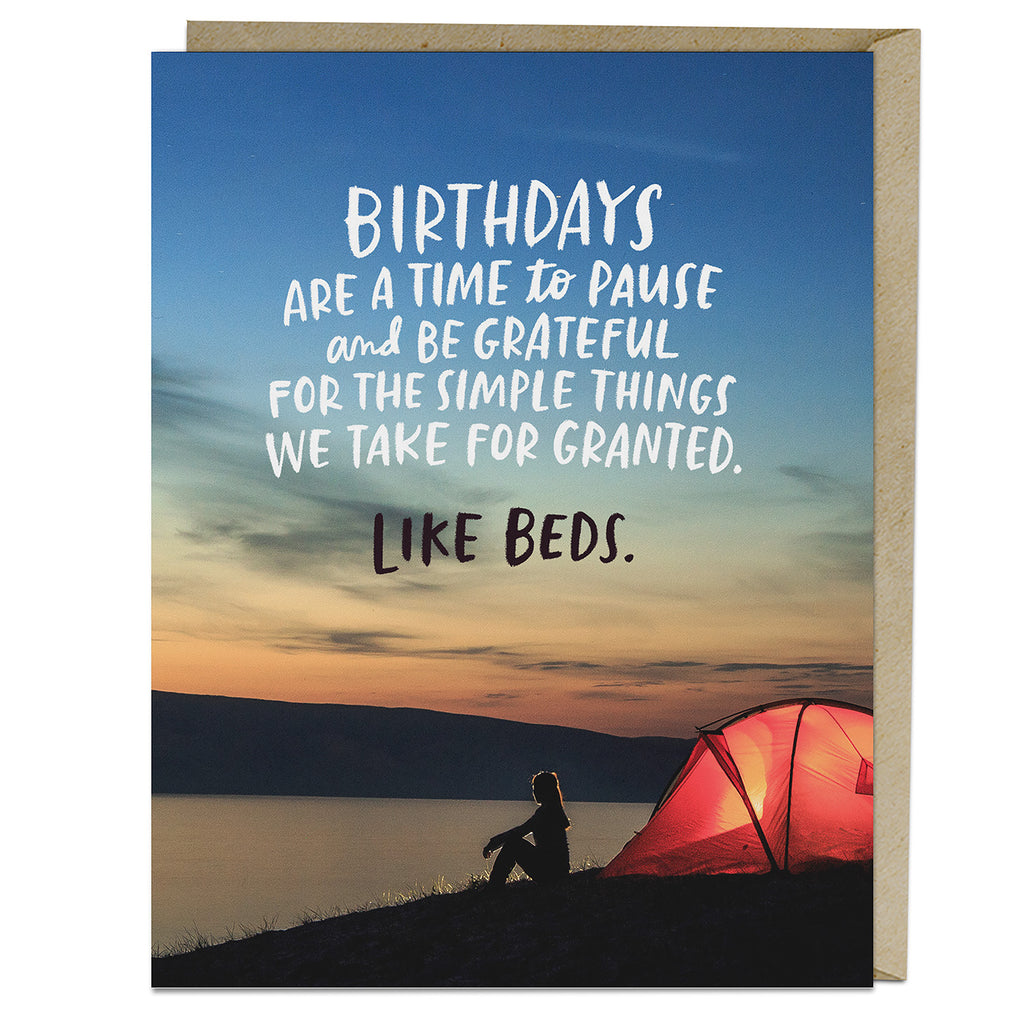 Emily McDowell & Friends Simple Things Birthday Card
