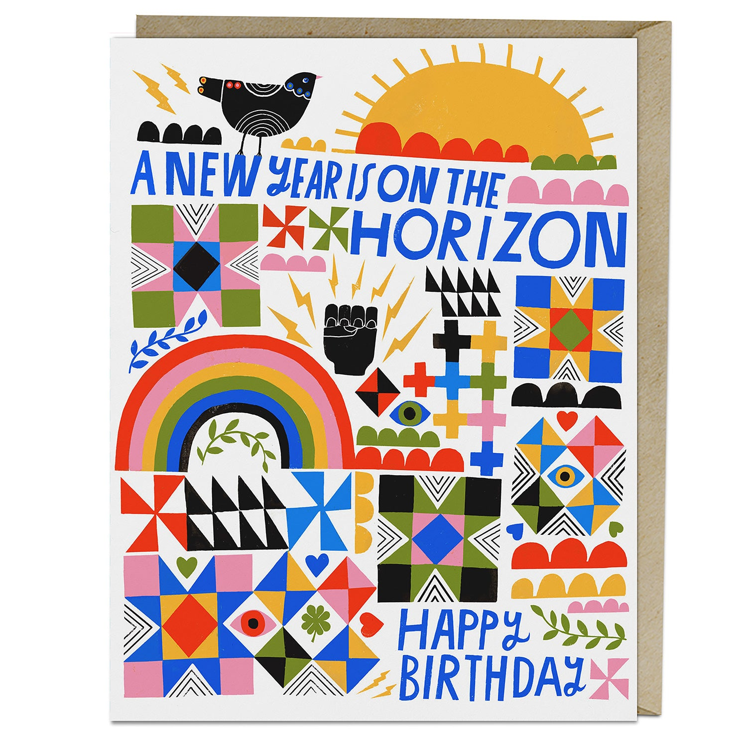 Lisa Congdon A New Year Birthday Card