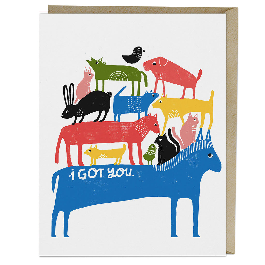 Lisa Congdon I Got You Card