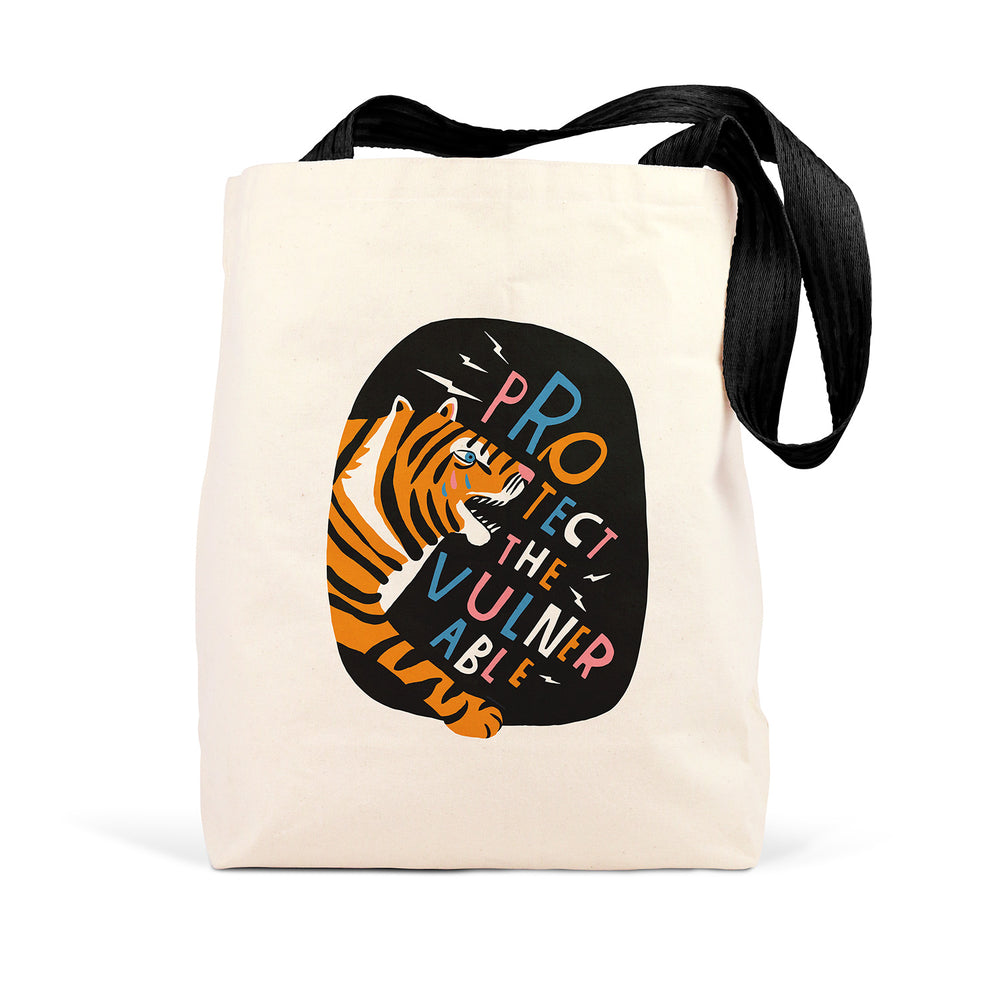 Lisa Congdon Protect The Vulnerable Tote Bag