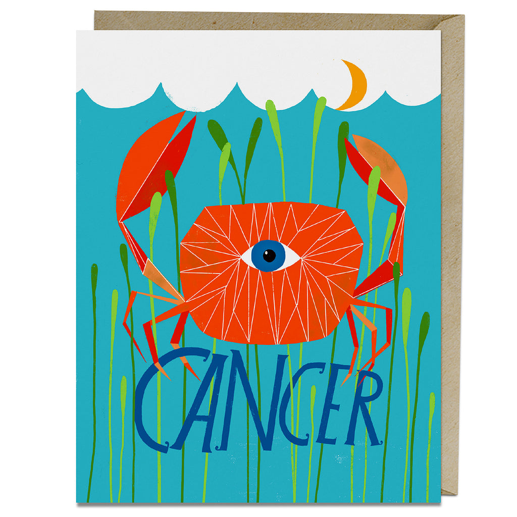Cancer themed birthday card from Emily McDowell & Friends
