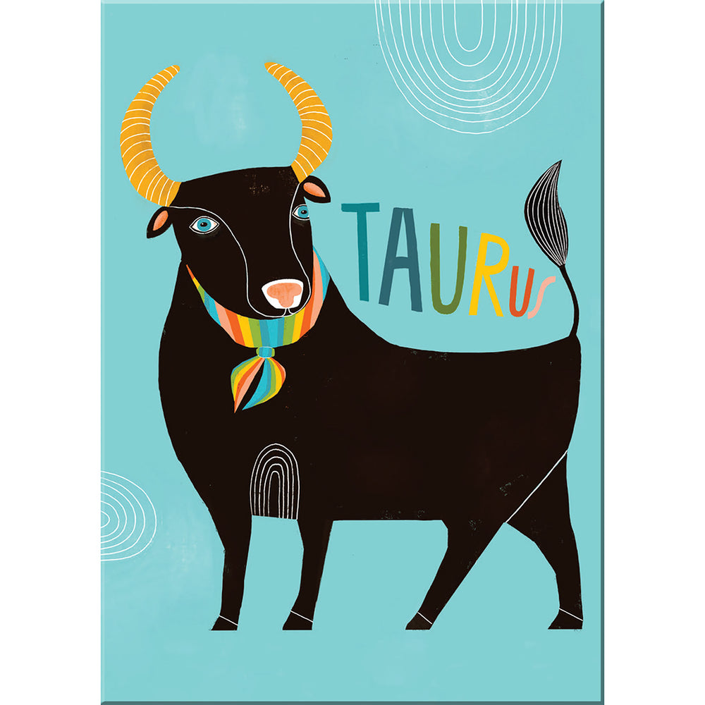Taurus zodiac magnet from Emily McDowell & Friends