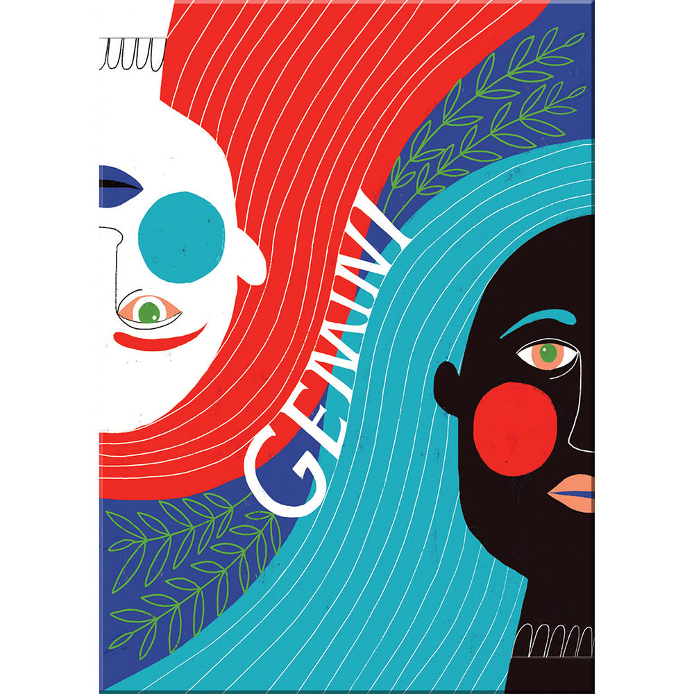 gemini zodiac magnet from Emily McDowell & Friends