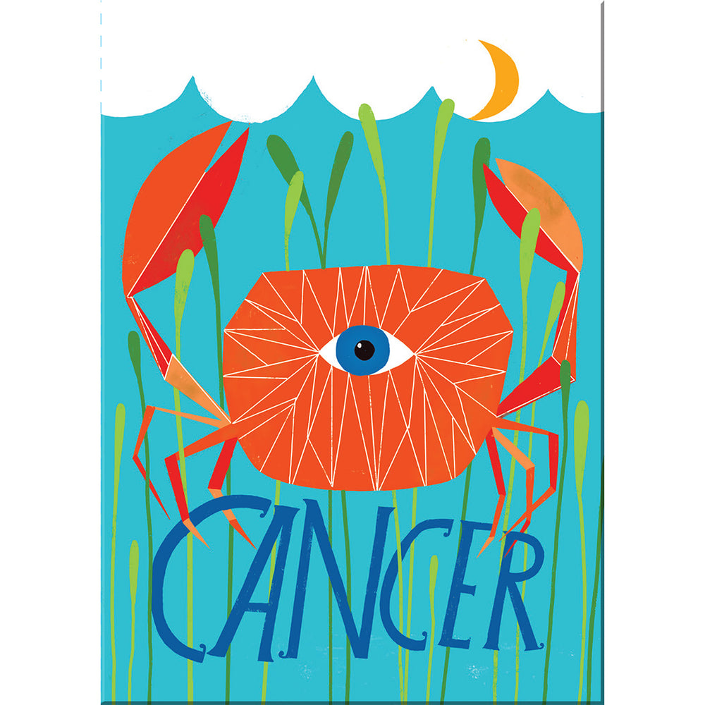 Cancer zodiac magnet from Emily McDowell & Friends