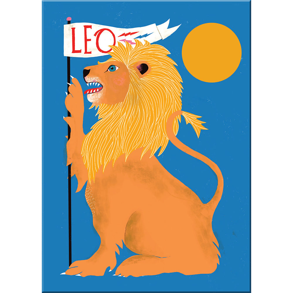 Leo zodiac magnet from Emily McDowell & Friends