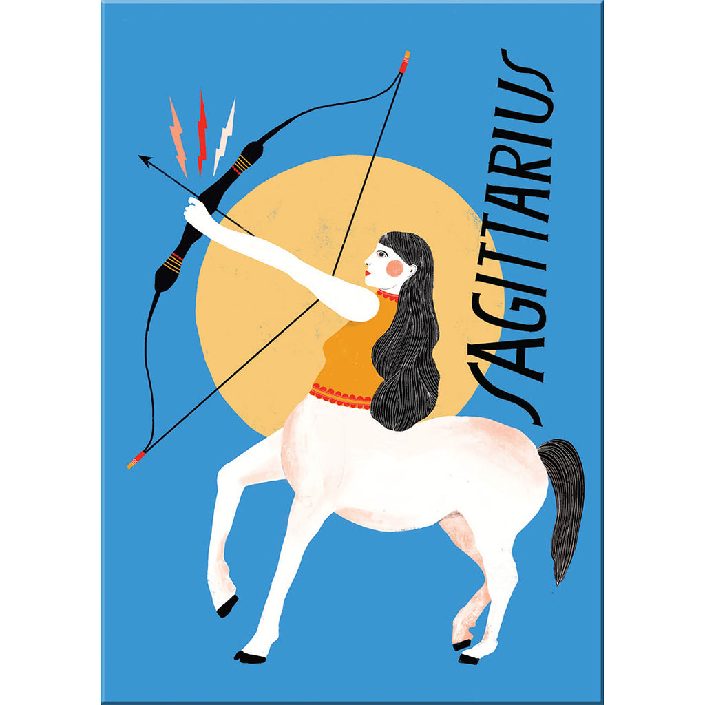 Sagittarius fridge magnet from Emily McDowell & Friends