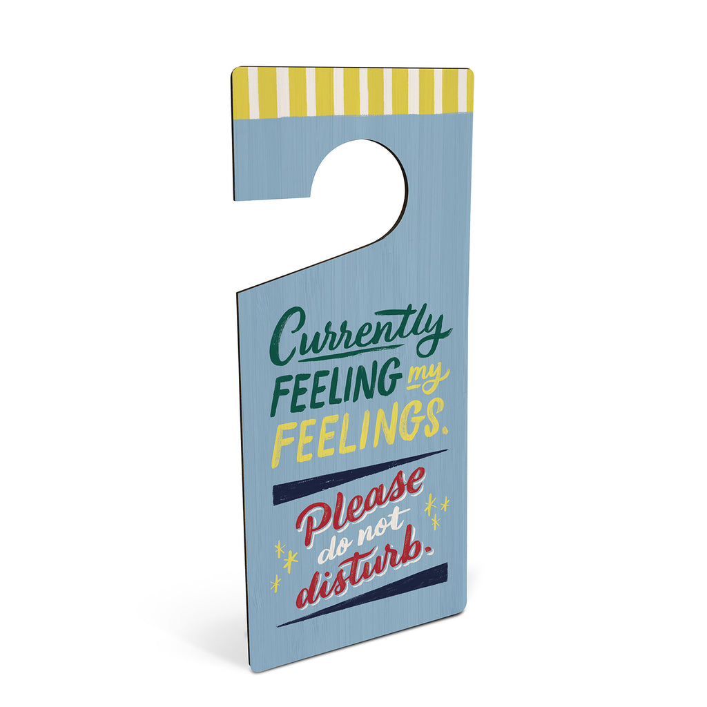 Thoughts/Feelings Door Hanger