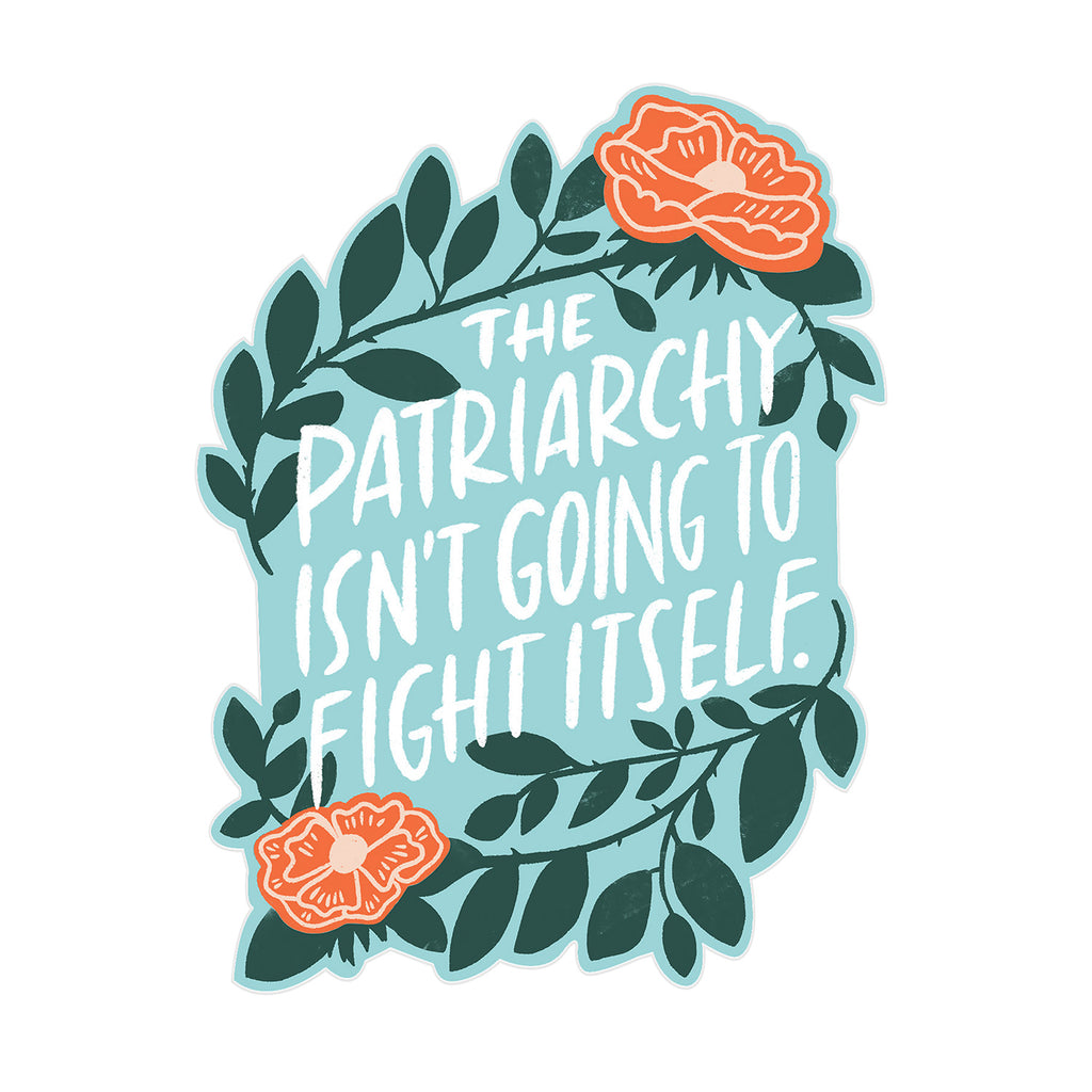 Patriarchy Sticker Card