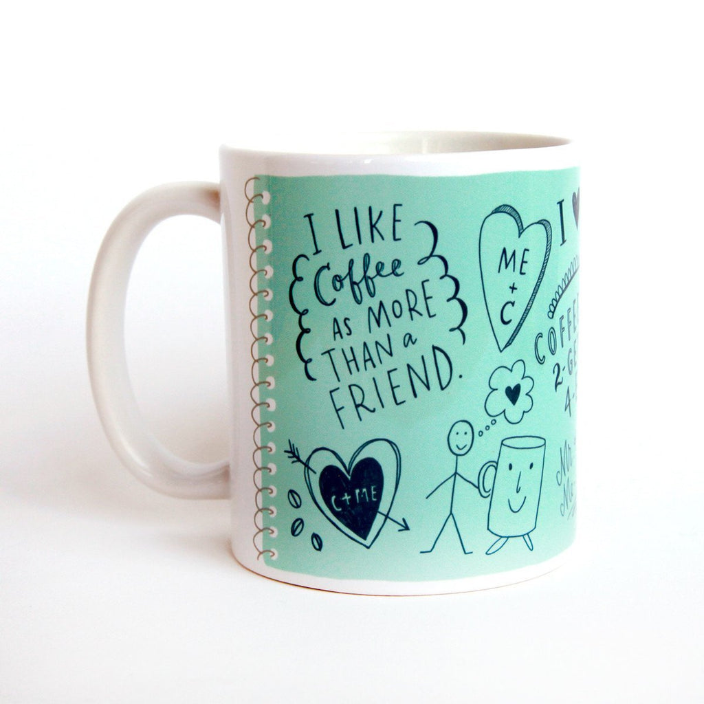 I Like Coffee Mug (Blue)