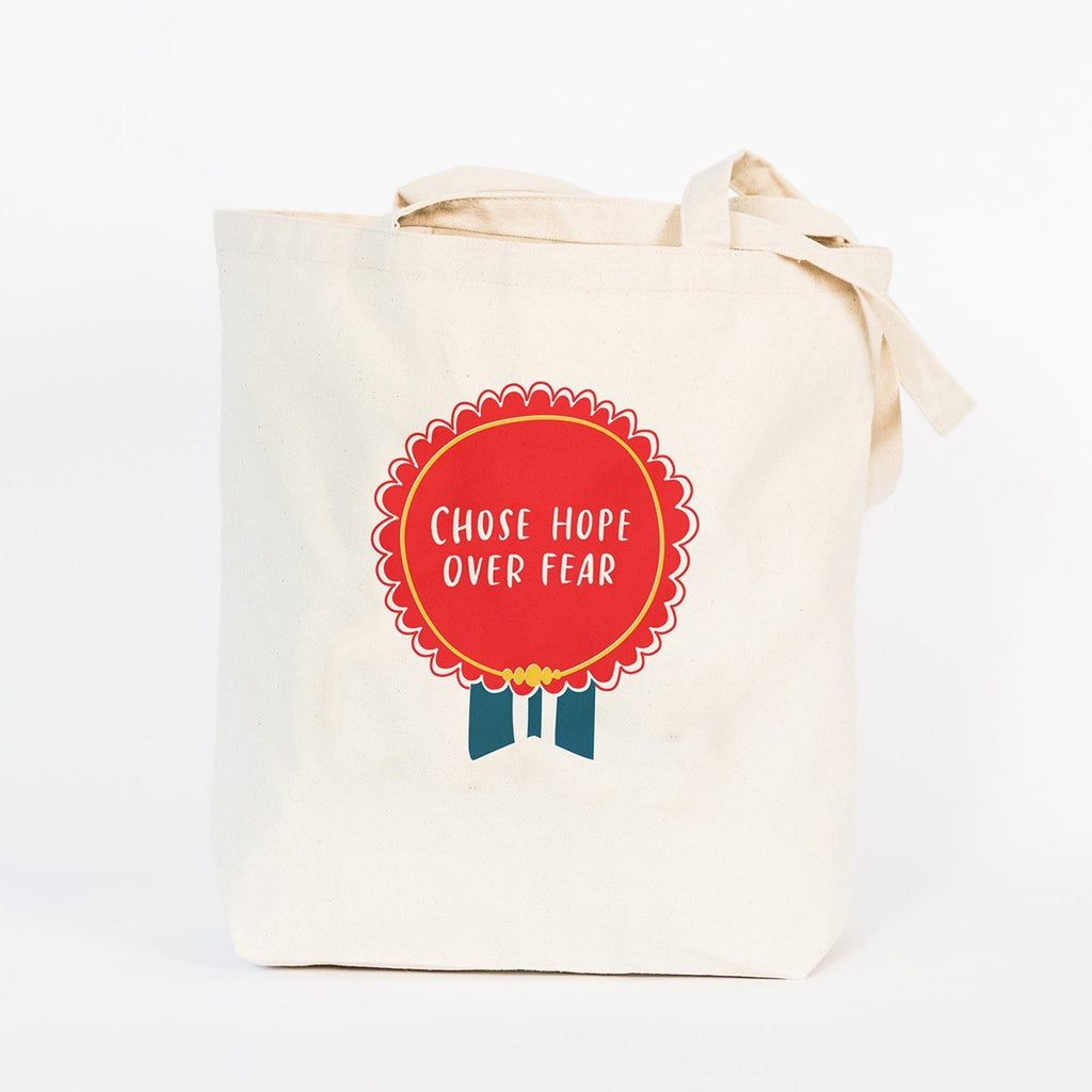 Tote Bag - Chose Hope Over Fear