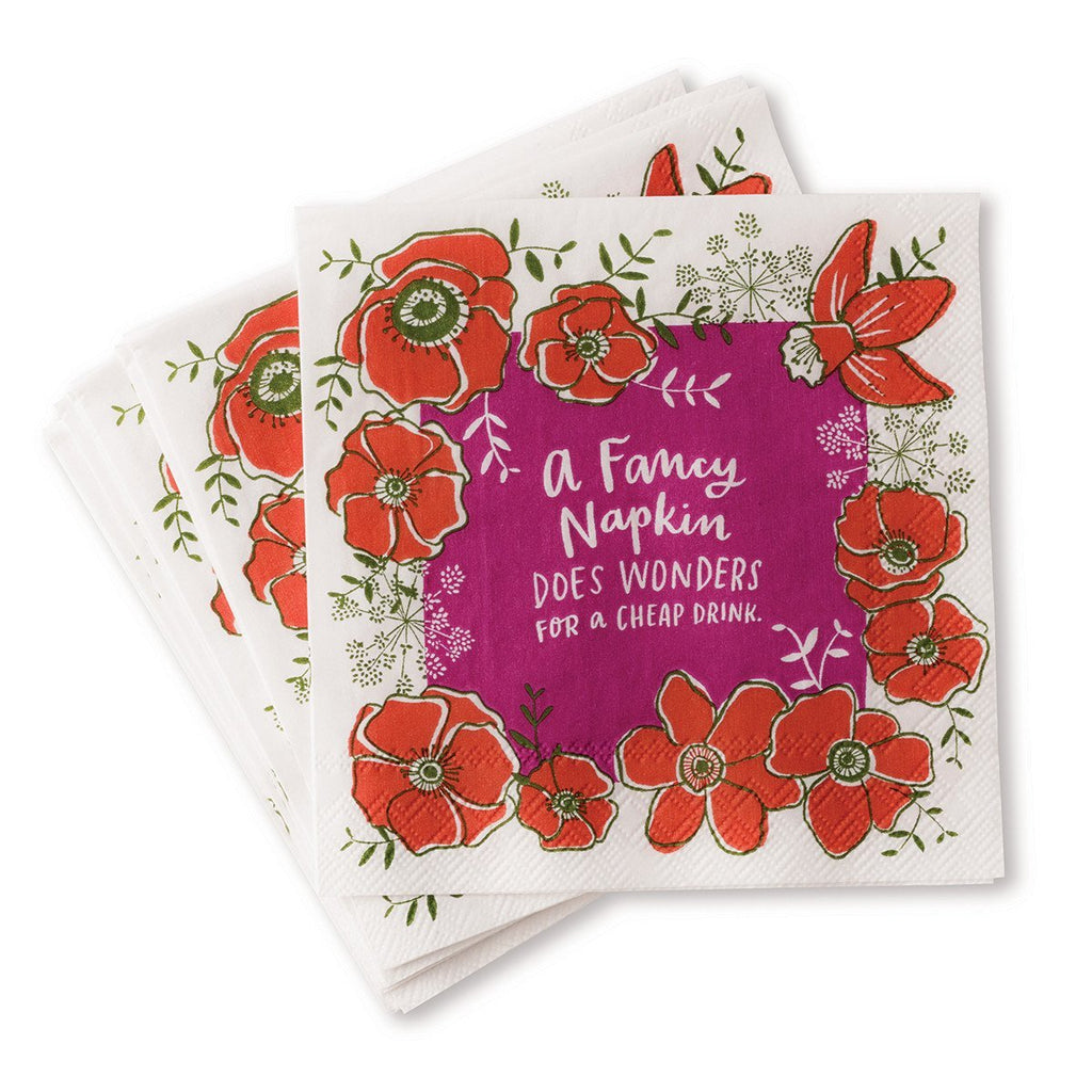Cocktail Napkins - Fancy Napkins Do Wonders