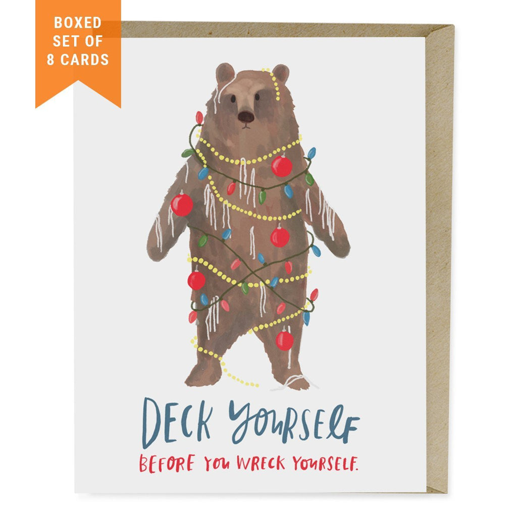 Deck Yourself Holiday Card, Box of 8