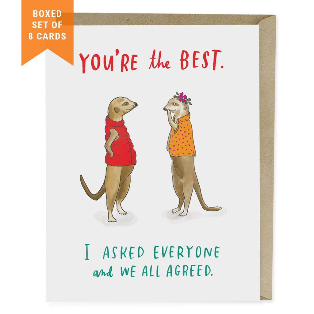 You're the Best - Box Set of 8 Cards