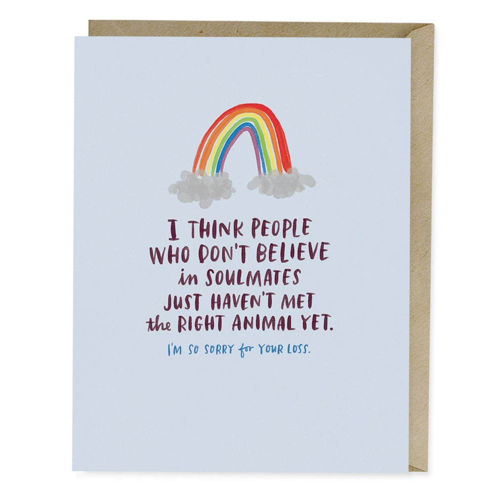 Emily McDowell Pet Soulmate Empathy Card