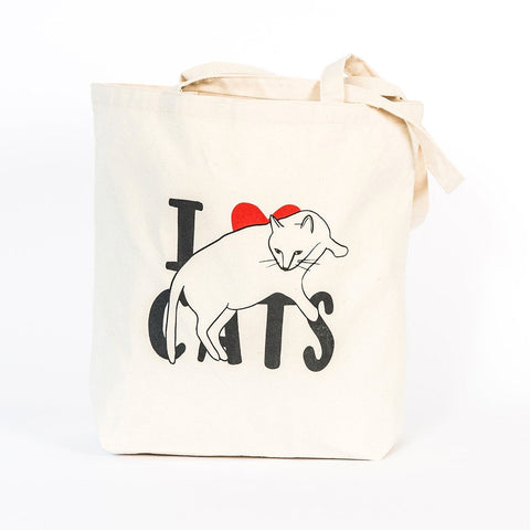 Tote Bag - I Love Cats