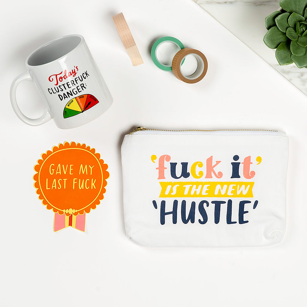 New Hustle Canvas Pouch
