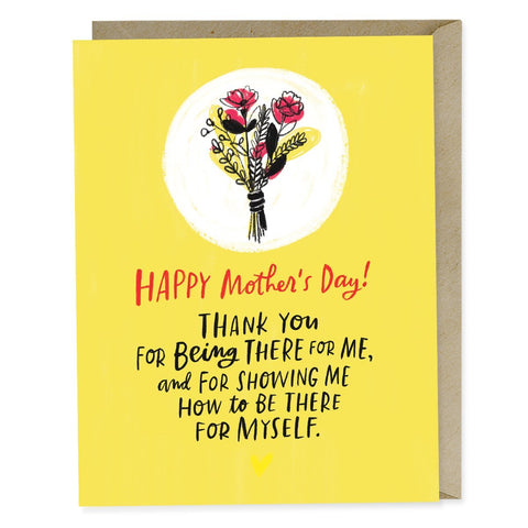 Emily McDowell Being There For Myself Mother's Day Card