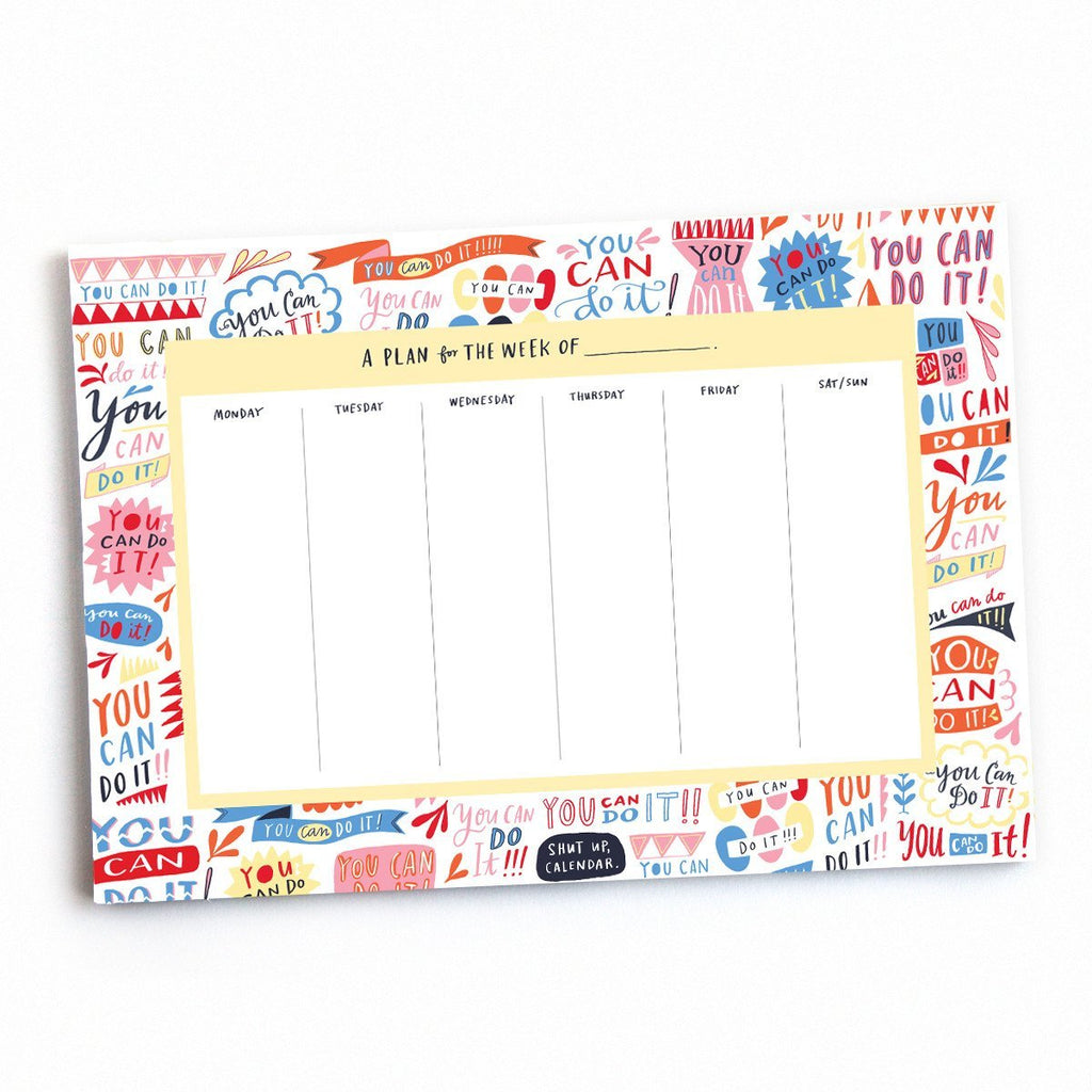 You Can Do It! Planner Pad