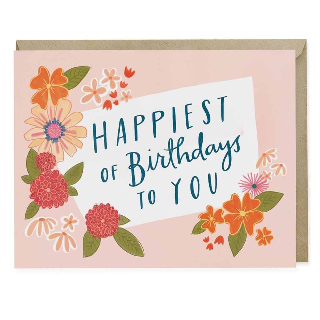 Happiest of Birthdays To You Card