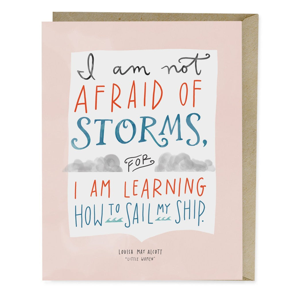 Little Women Storms Card