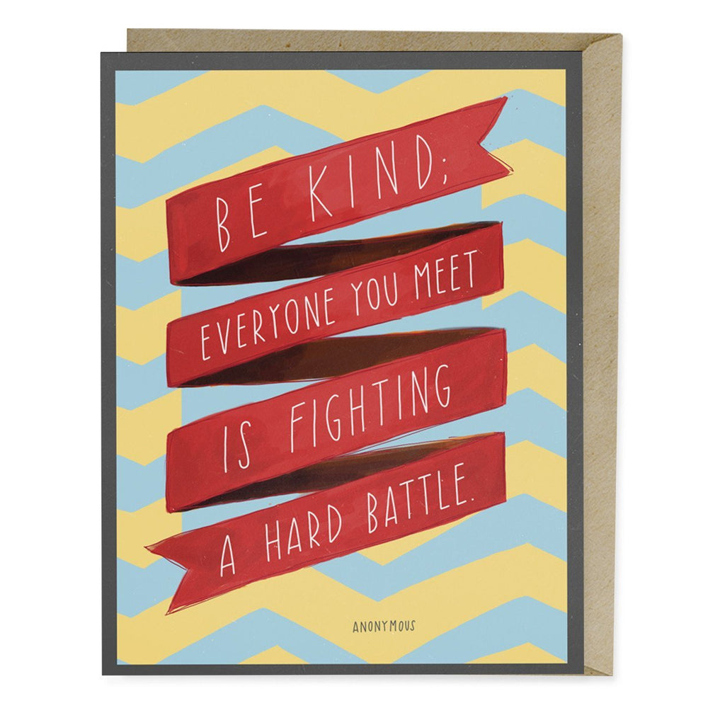 Friendship Card: Be Kind