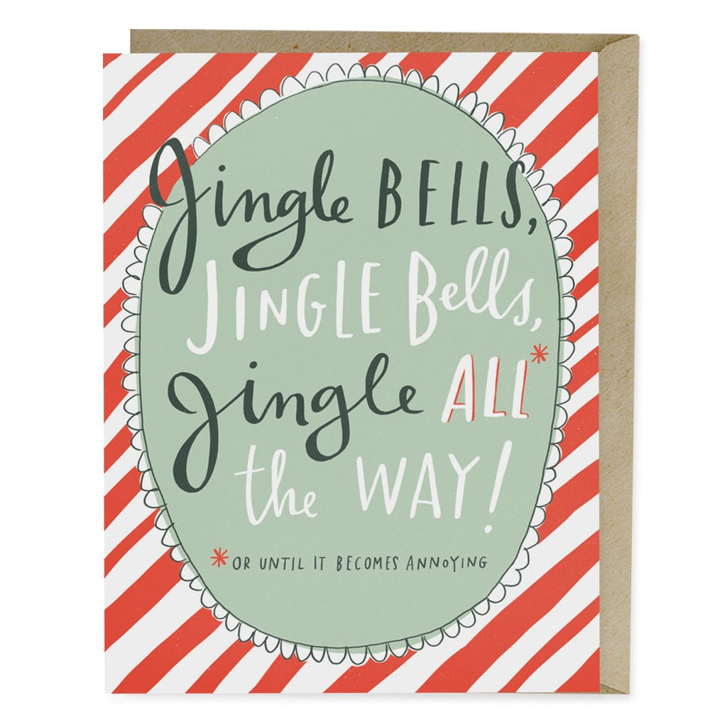 Jingle Bells Holiday Card
