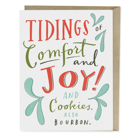 Cookies & Bourbon Holiday Card